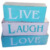 Blocks - Live Laugh Love