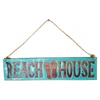 Beach House Sign Sandal